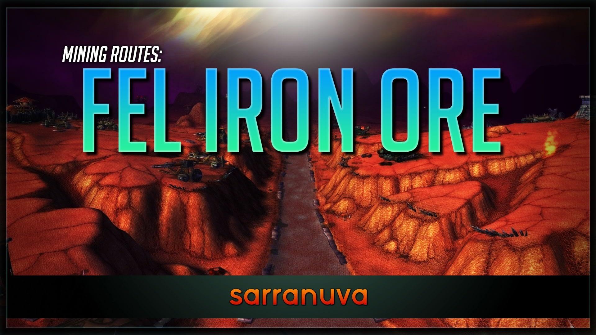 Mining Routes: Fel Iron Ore by Sarranuva